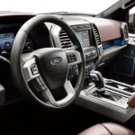 2020 Ford Pickup Interior