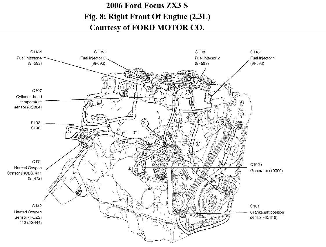 Ford Focus 1 6 Zetec Firing Order