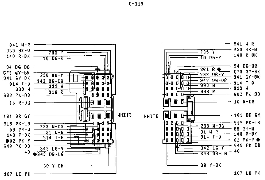 thread pcm pinout diagrams