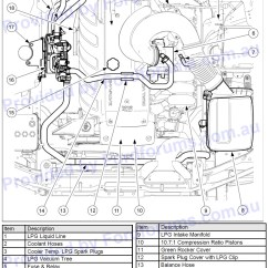 Ba Falcon Bluetooth Wiring Diagram Harbor Breeze Ceiling Fan Capacitor 2009 Fg Lpg Injector Leaking Servicing
