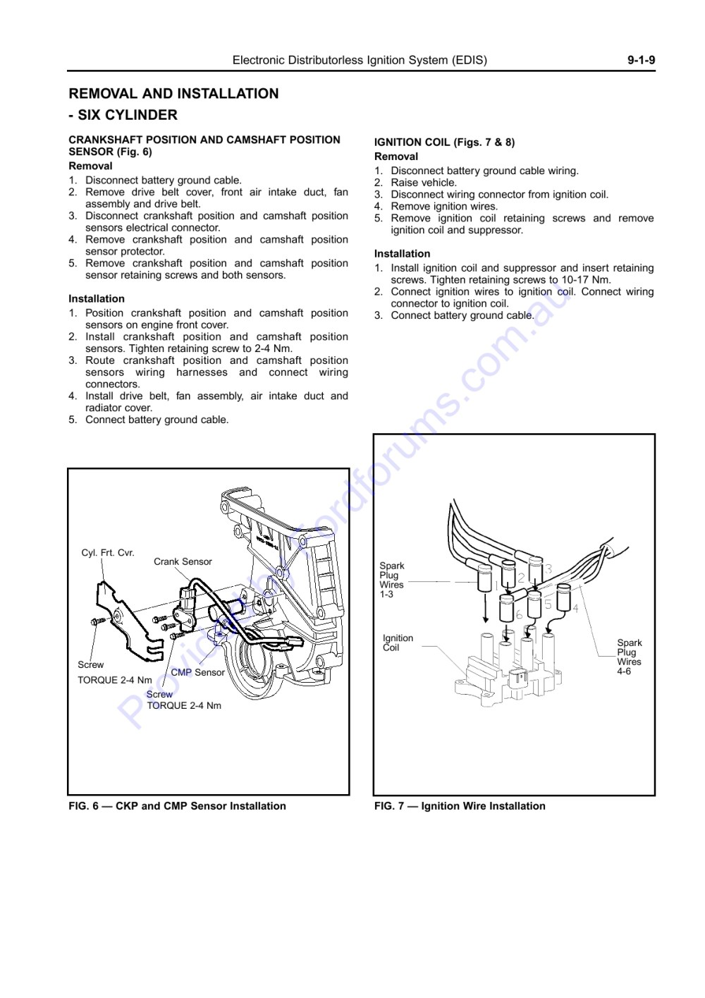 medium resolution of wiring manual diagrams 199r10555 electronic distributorless ignition system edis