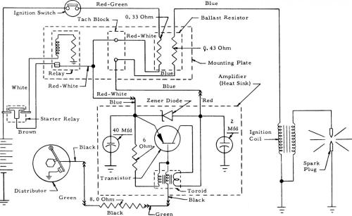 small resolution of 78 breaker point type schematic circuit jpg