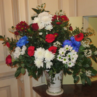 Mrs.C's flower arrangement