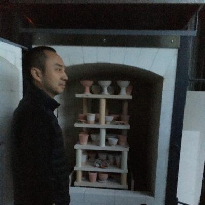 Mr. Hosokawa the potter