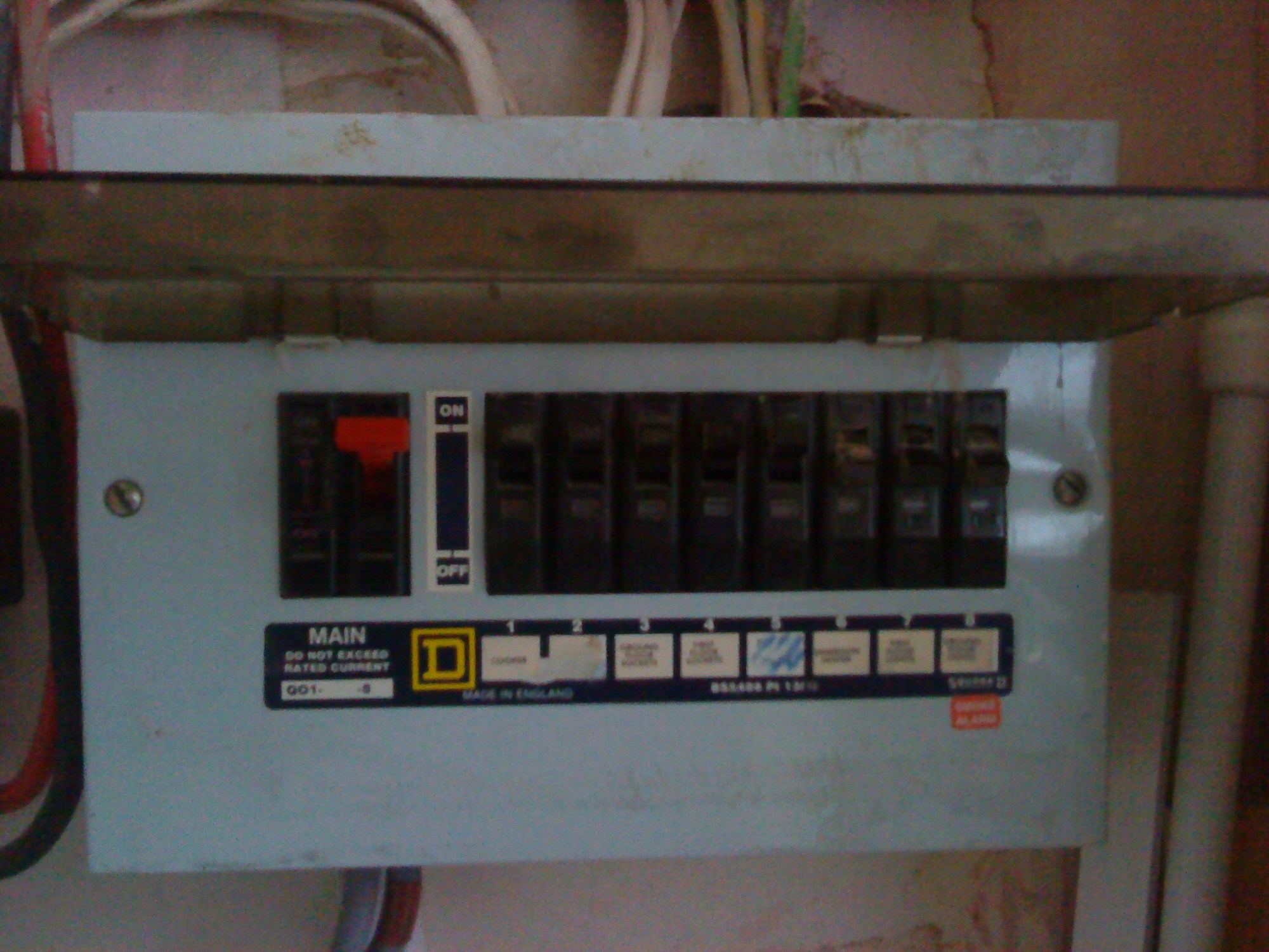 hight resolution of no rcd at this fuse box i undertook full inspection
