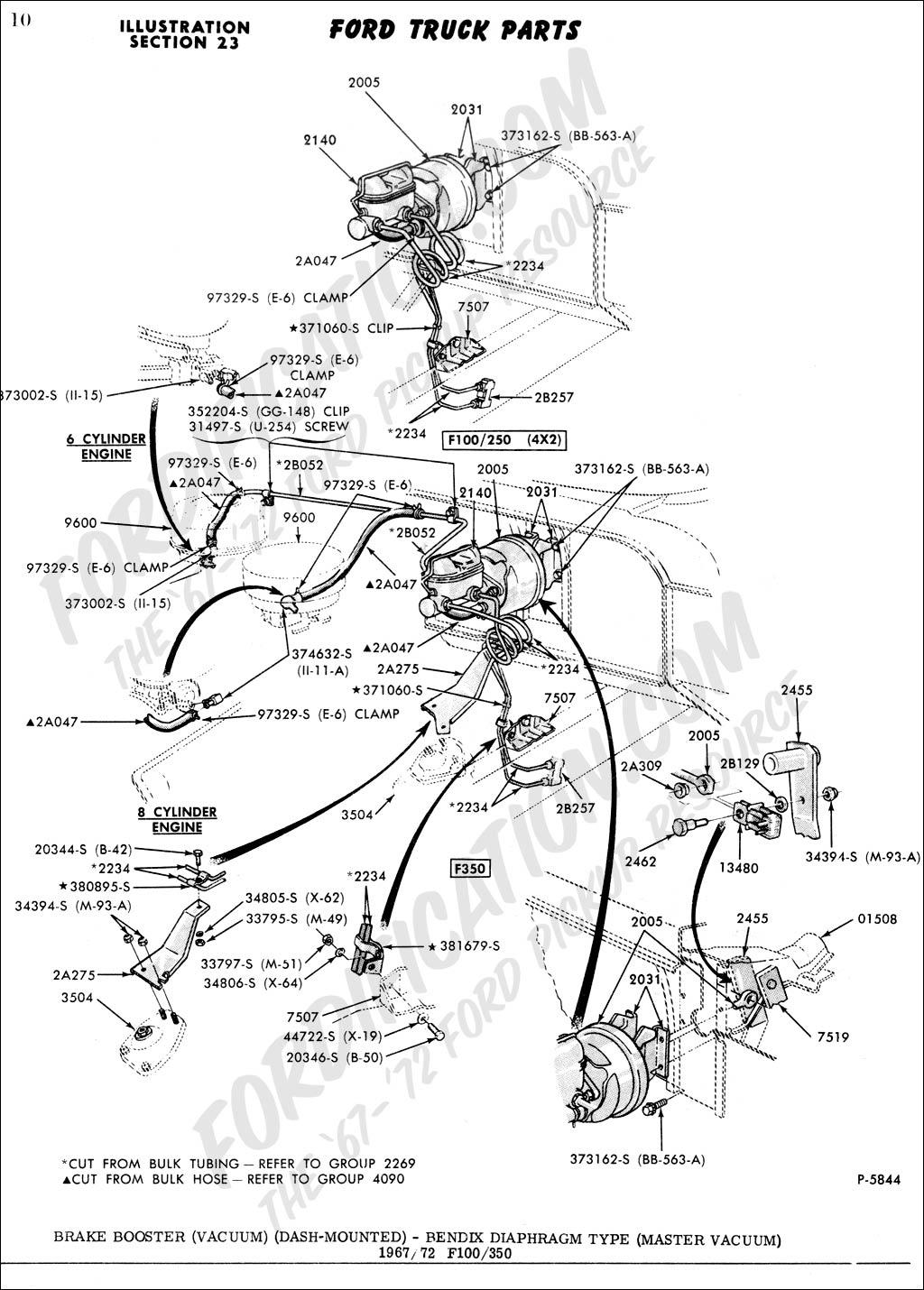 Ford Brakes Diagram