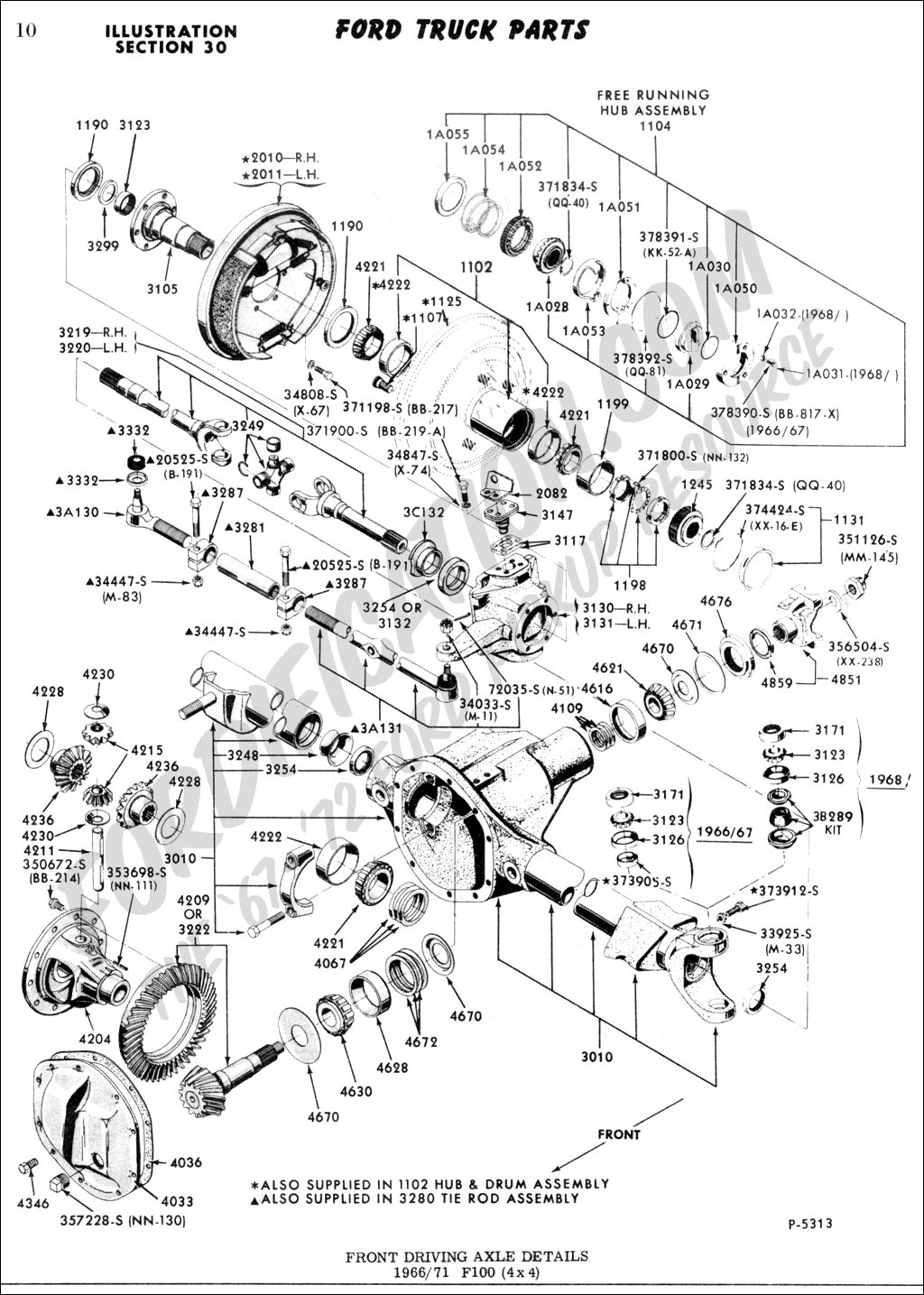 Ford F100 Front Suspension Diagram, Ford, Free Engine