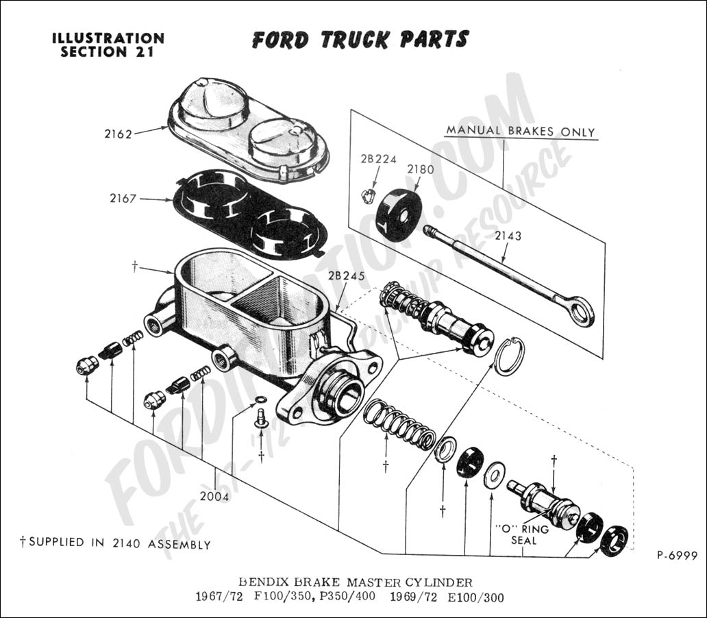 hight resolution of ford truck technical drawings and schematics section b brake systems and related components
