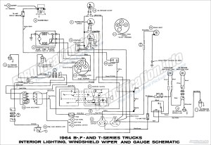 1964 Ford Truck Wiring Diagrams  FORDificationinfo  The '61'66 Ford Pickup Resource
