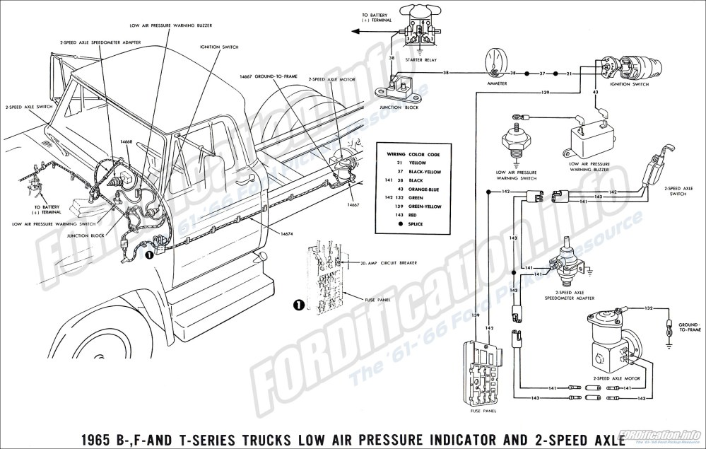 medium resolution of 1965 ford truck wiring diagrams fordification info the 1964 ford truck 1964 ford truck