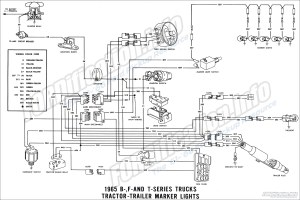 1965 Ford Truck Wiring Diagrams  FORDificationinfo  The '61'66 Ford Pickup Resource