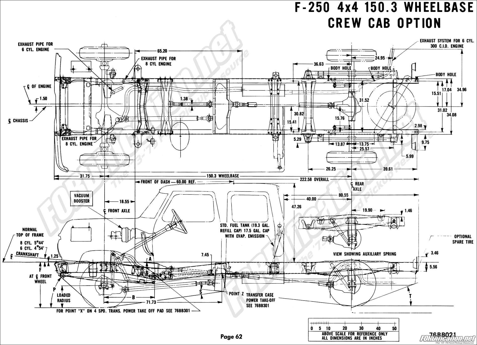 Looking For Dimensions From The Ford Body Layout Book