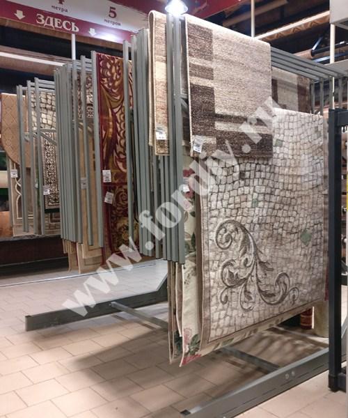 Экспозиторы для ковров, стенд книжка для ковров
