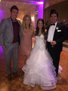 So happy we were able to share in Lauren and Blake's special day!