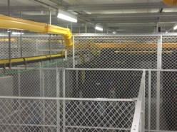 FL-Data Center Cages w Extended Heights-WHT