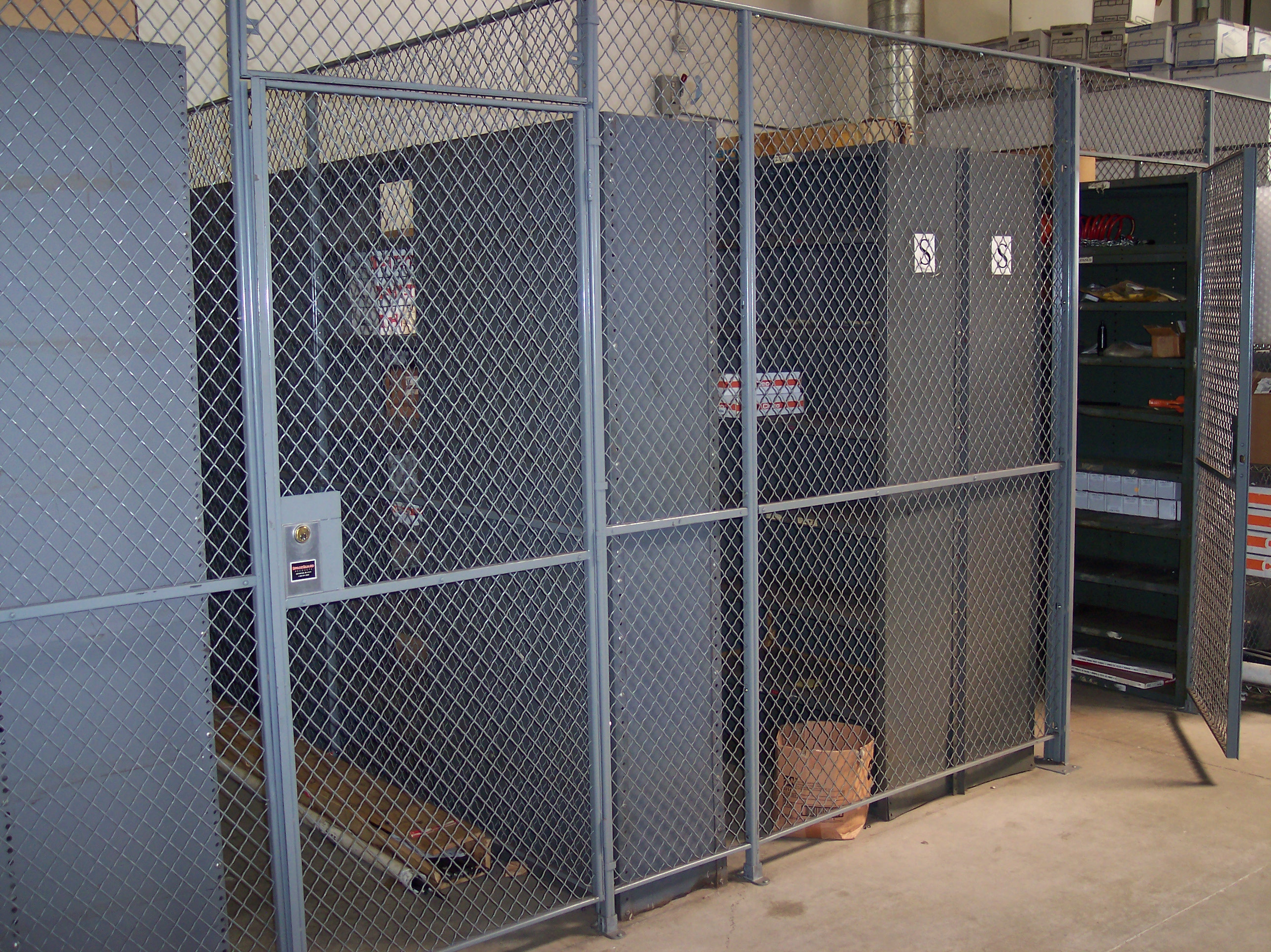 Applications-Woven Wire Mesh Partitions - True American Craftsmanship