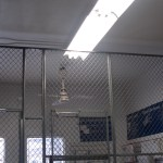 State Department Wire Mesh Security Partitions