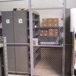 Inventory Control Wire Partition Cages
