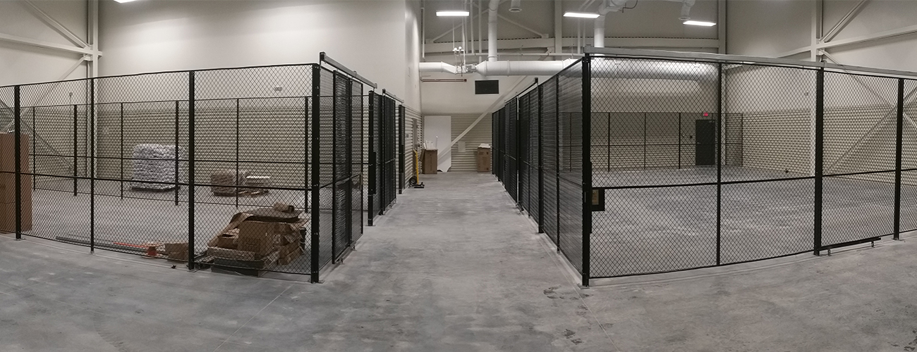 Warehouse Wire Mesh Security Cage