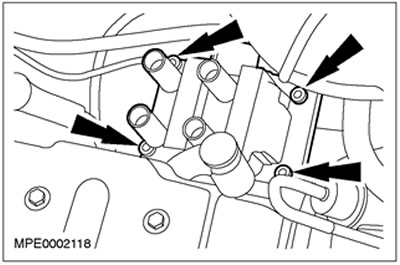 Блок катушки зажигания 1.4/1.6 Zetec-SE Ford Focus 1