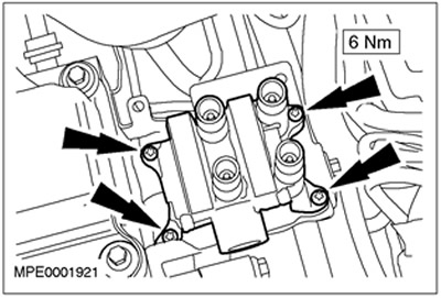 Блок катушки зажигания 1.8/2.0/1.6 Zetec-E Ford Focus 1