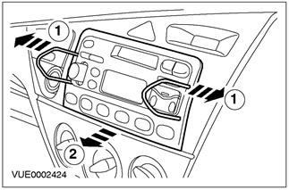 Электрооборудование: Аудиосистема Ford Focus 1