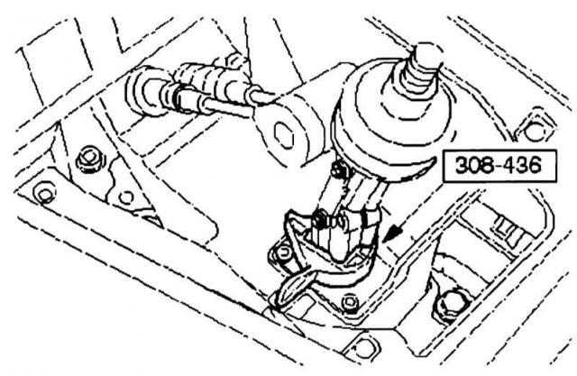 Наладка переключения передач Ford Mondeo 3