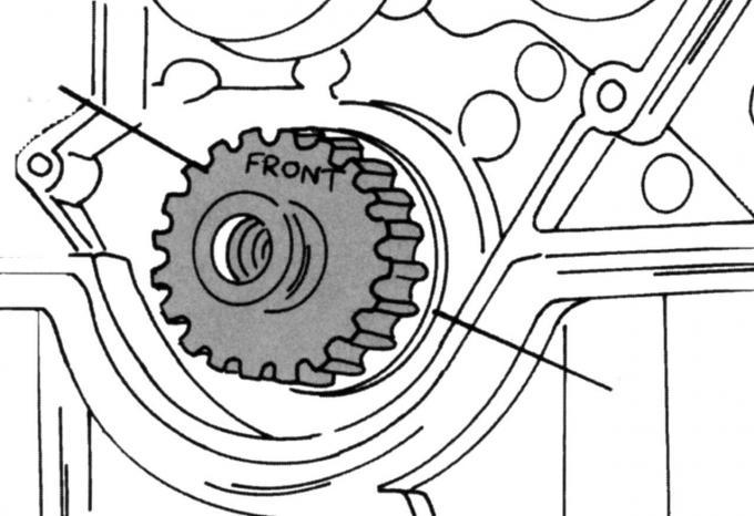 Проверка коленвала Ford Mondeo 2