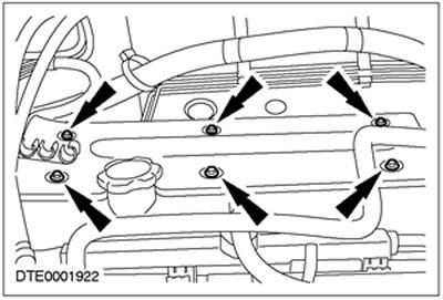Провода свечей зажигания 1.4/1.6 Zetec-SE Ford Focus 1