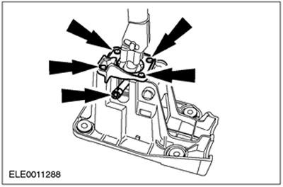 Рычаг переключения передач (автомобили до 08.2001) Ford