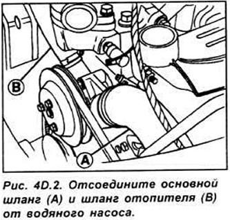 Снятие и установка двигателя (двигатели HCS и Endura-E