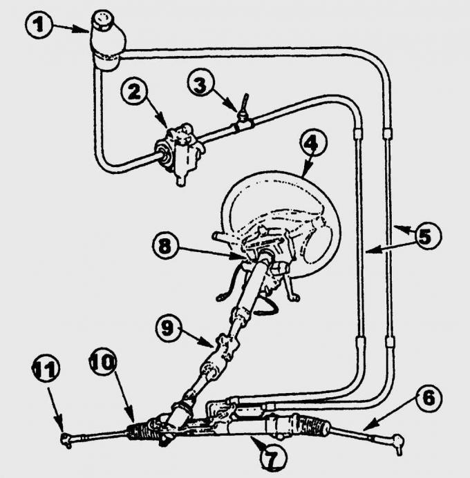 Усилитель рулевого управления Ford Fiesta 4