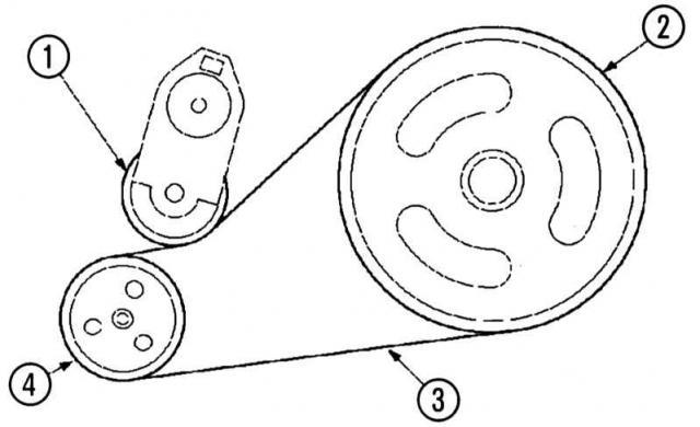 Замена приводных ремней Ford Mondeo 3