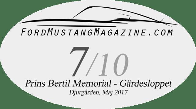 Bedömning Prins Bertil Memorial - Gärdesloppet 2017