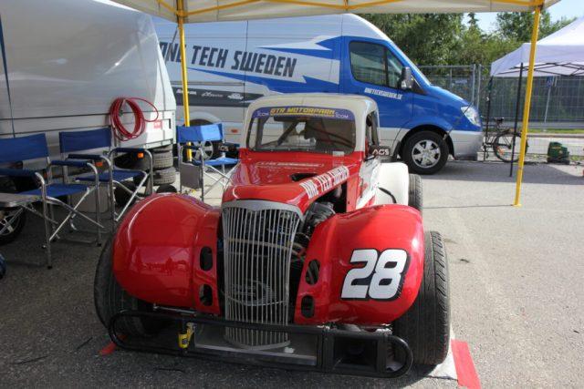 FordMustangMagazine, Solvalla sportbilsfestival 2017, Legends Cup bil Åsa Nisse bil