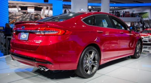 Upgrades 2016 Ford Performance Fusion
