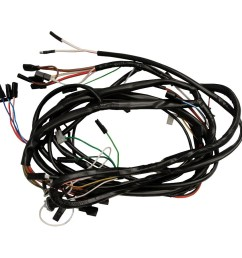 ford new holland wiring harness front main harness from jan of 1965 on tractors using lucas generators replaces part c5nn14a103ae and c7nn14a103m  [ 900 x 900 Pixel ]