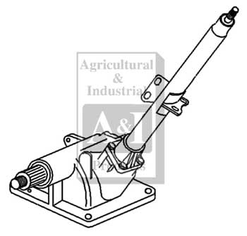Ford 3600 Tractor Power Steering Diagram, Ford, Free