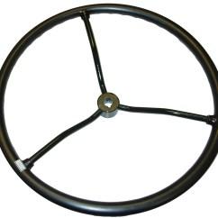 8n Ford Rims Trimming Horse Hooves Diagram 1104 4907 Steering Wheel 9n 2n 1939 47 N