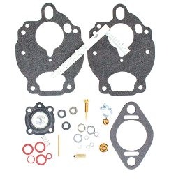economy carburetor repair kit for ford tractors 2000 2600 3000 3400 3500 3600 4000 4100 4400 4500 4600 and 5000 with zenith carburetors  [ 1200 x 1200 Pixel ]