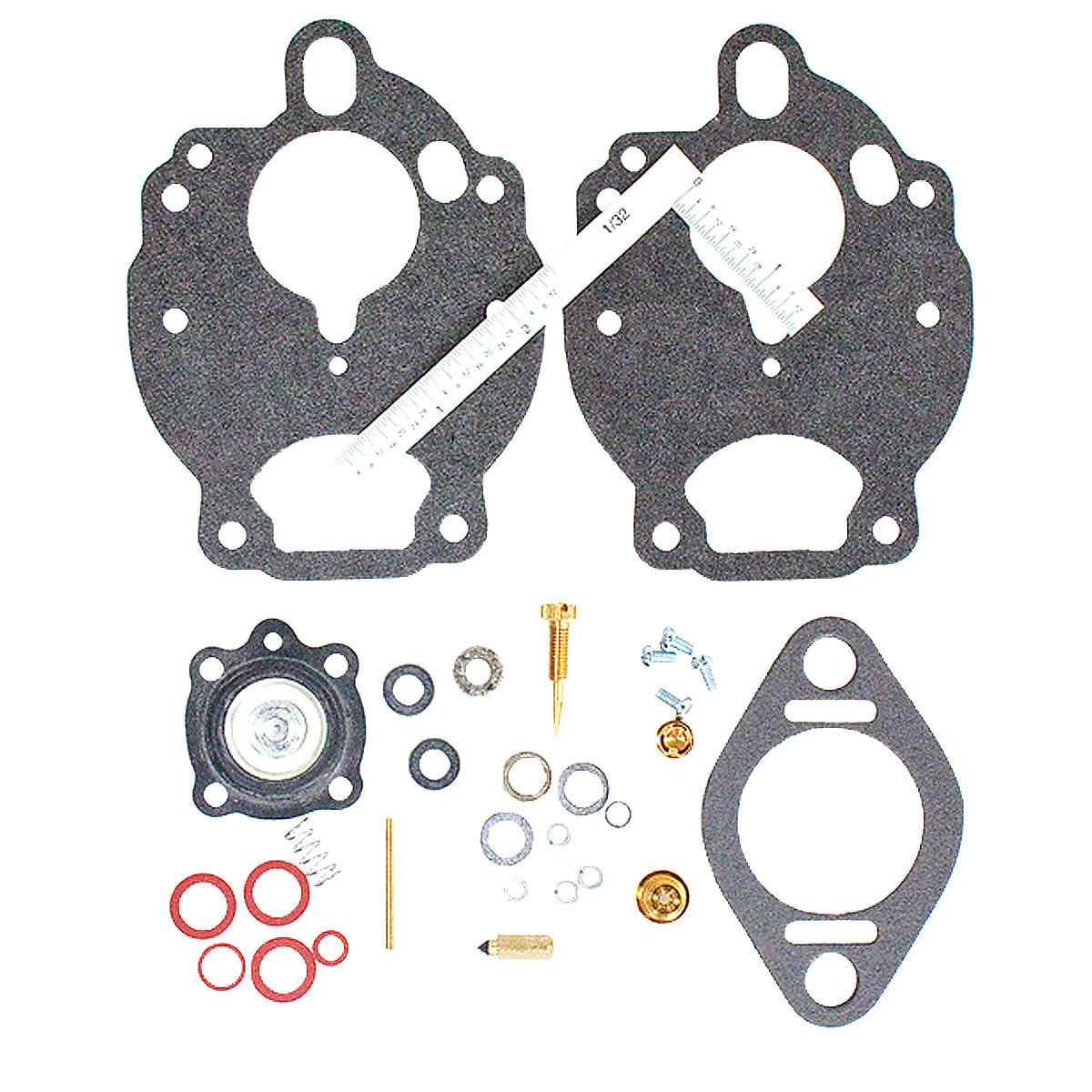 hight resolution of economy carburetor repair kit for ford tractors 2000 2600 3000 3400 3500 3600 4000 4100 4400 4500 4600 and 5000 with zenith carburetors