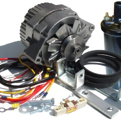 8n Ford Clutch Speaker Wiring Diagram With Volume Control Fds249 Alternator Conversion Kit N Tractor Parts