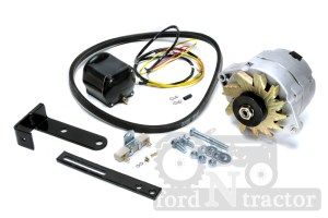 Generator to alternator conversion fro ford 3000 tractor