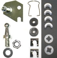 Clutch Pivot Shaft Service Kit, -72-74 A-body Small Block