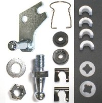 Clutch Pivot Shaft Service Kit, -68-71 A-body Small Block