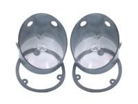 Parkeringsglas, -70 Plymouth Roadrunner & GTX, vita