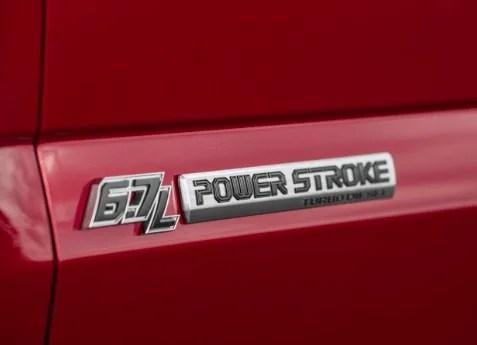 2017 FORD F350 SUPER DUTY POWER STROKE DOOR EMBLEM SET - FordPartsOne