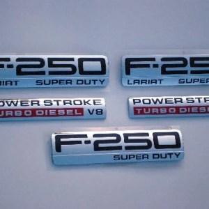 F250 Lariat Emblem Package 2005 2006 2007 - FordPartsOne