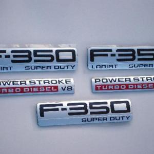 F350 Lariat Emblem Package 2005 2006 2007 - FordPartsOne