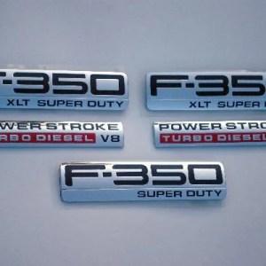 F350 XLT Emblem Package 2005 2006 2007 - FordPartsOne